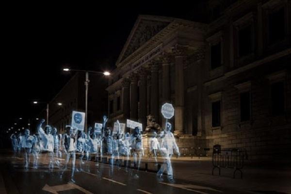 Первая в мире голографическая демонстрация