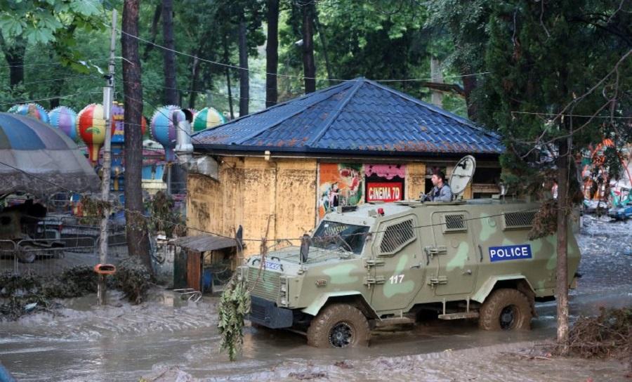 Наводнение в Грузии