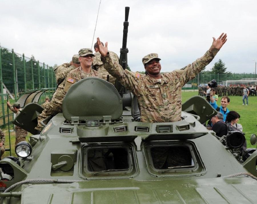 НАТО на Западной Украине