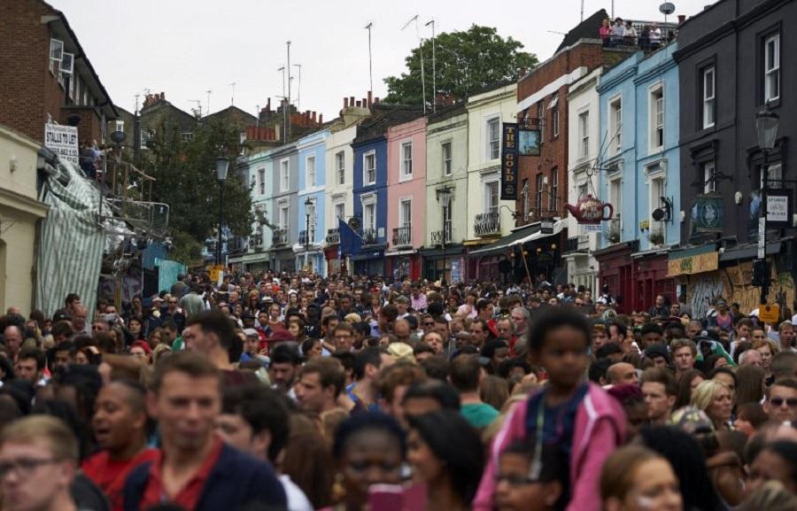 Карибский карнавал в Ноттинг-Хилле