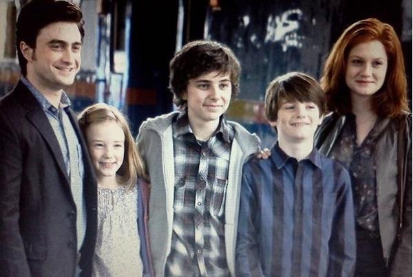 Гарри Поттер и его семья