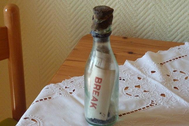 Самое старое послание в бутылке плавало в море 110 лет