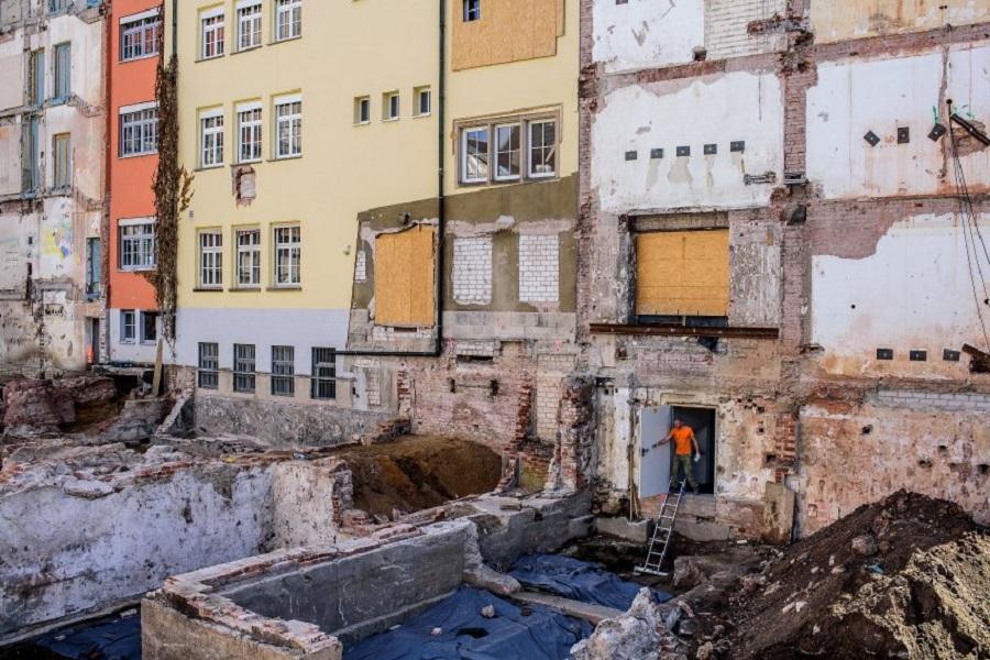 Раскопки в Нюрнберге