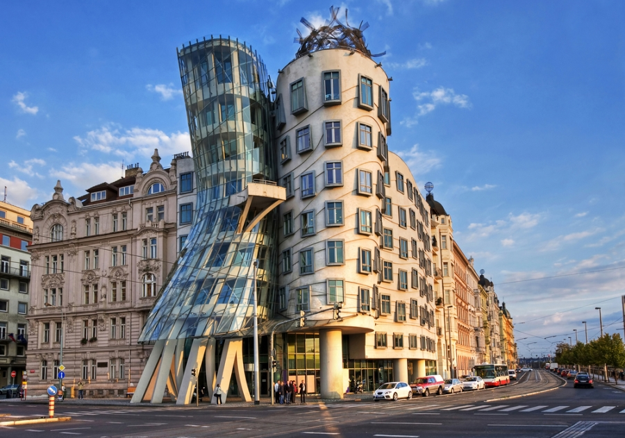 Главные достопримечательности Праги, Танцующий дом
