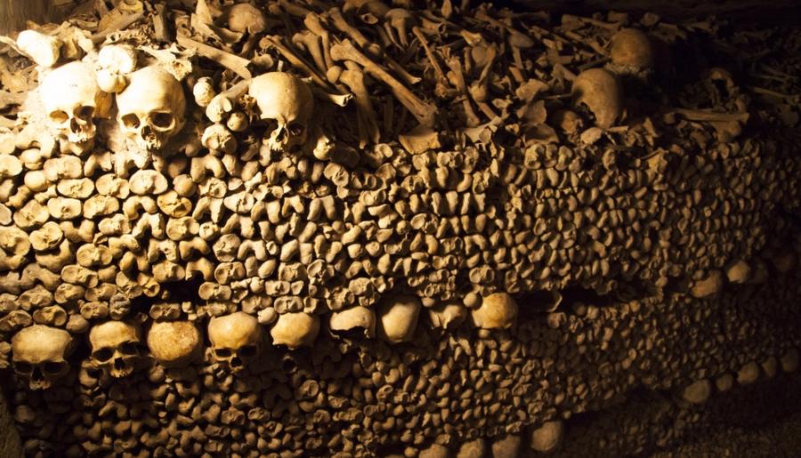 Проведите Хэллоуин в парижских катакомбах с 6 миллионами мертвецов
