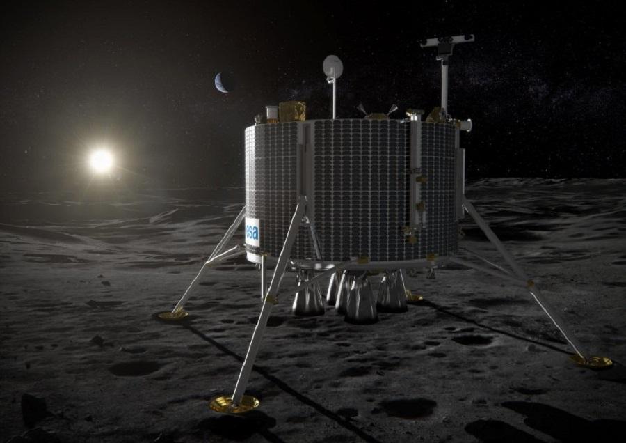 Робот Lunar Lander, разработанный ESA