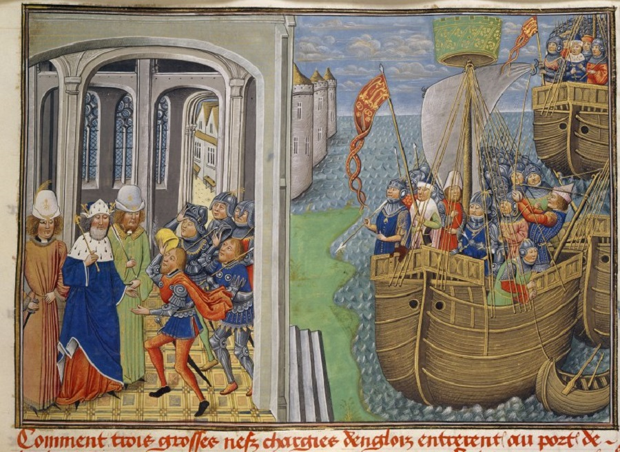 Королевский флот в конце XV века