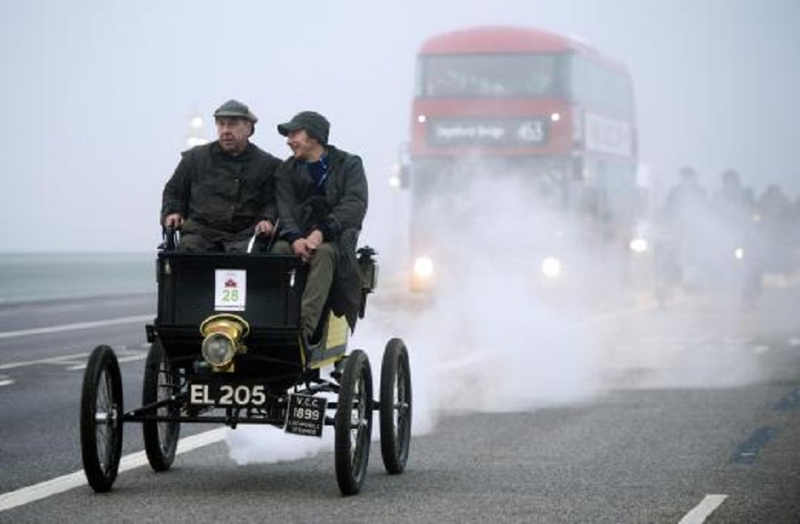 Veteran Car Run