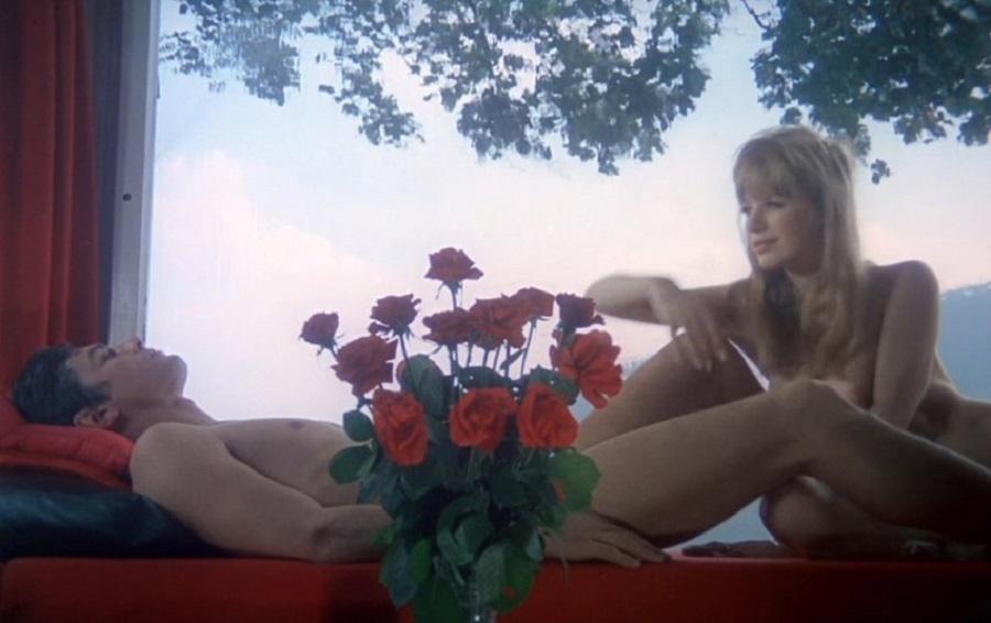 """""""Девушка на мотоцикле""""  (1968 г.)"""