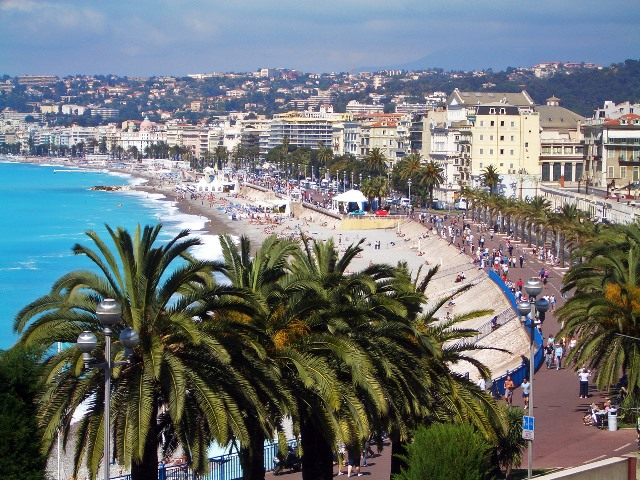 Средиземноморское побережье Франции, Лазурный берег, Ницца