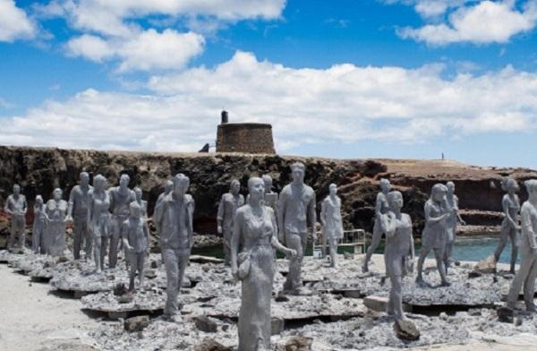 Скульптуры для подводного музея