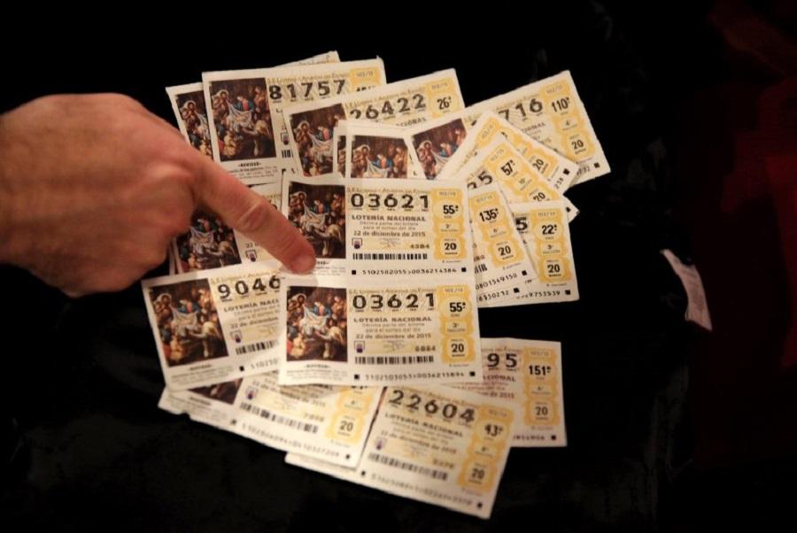 Розыгрыш рождественской лотереи