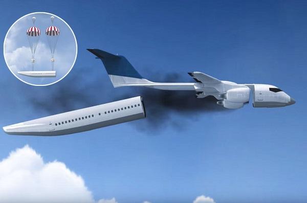Самолет с отделяемой капсулой