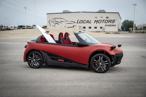 Автомобиль компании компании Local Motors