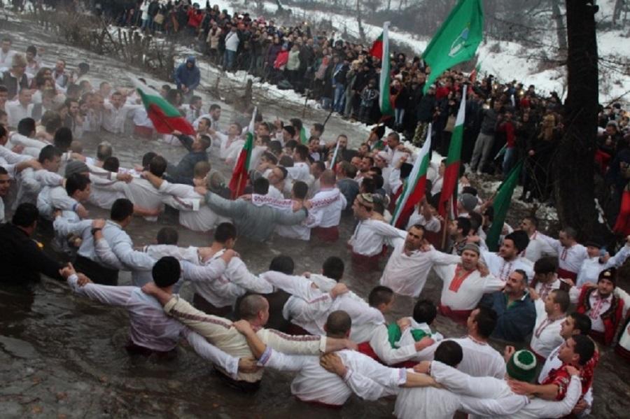 Крещение в Калофере