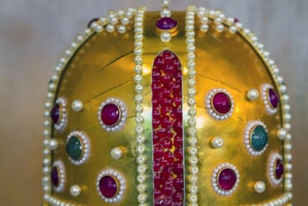 Копия короны болгарских правителей