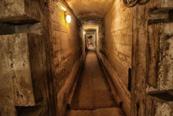 Туннель под замком Fürstenstein
