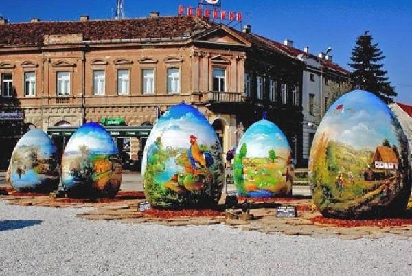 Пасхальные яйца в Копривнице