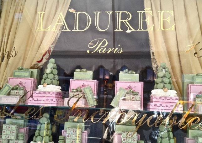 Французский макарон, Laduree в Париже