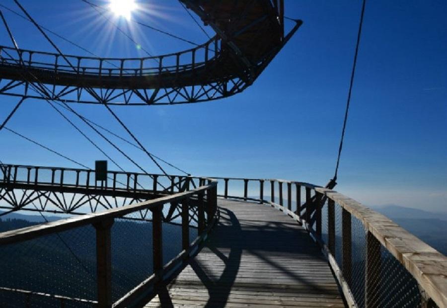 Видовая башня в Долни Морава