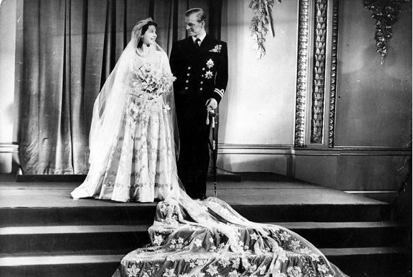 Свадьба Елизаветы и Филипа