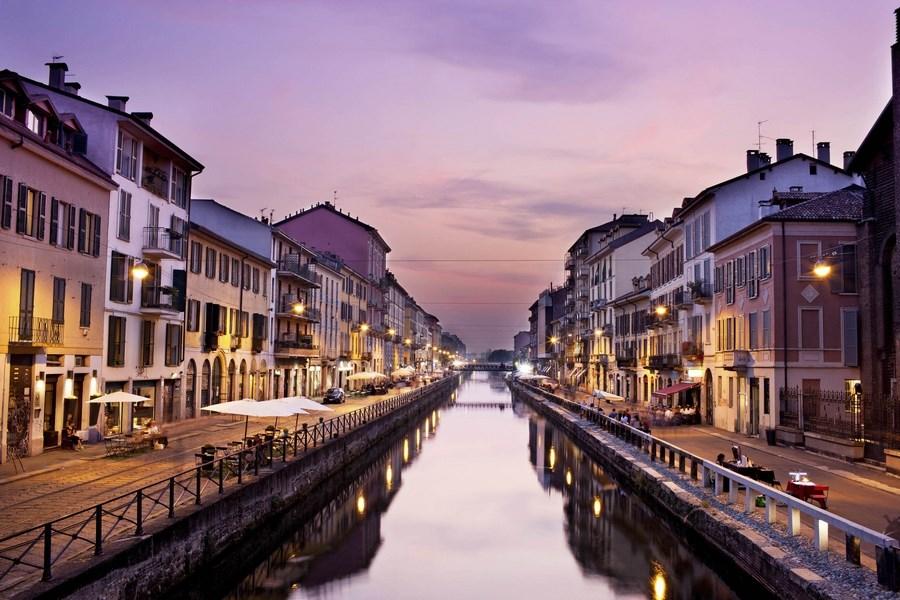 Достопримечательности Италии. Каналы в Милане