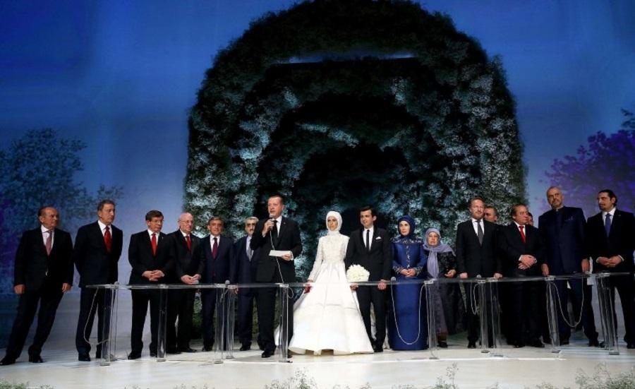 Свадьба дочери Эрдогана