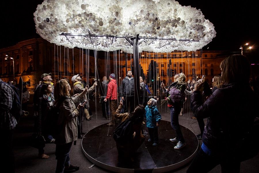 Фестиваль света в Бухаресте