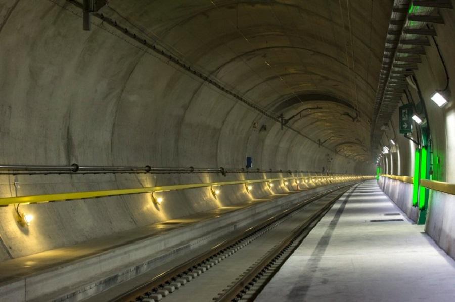 Открытие Готардского туннеля