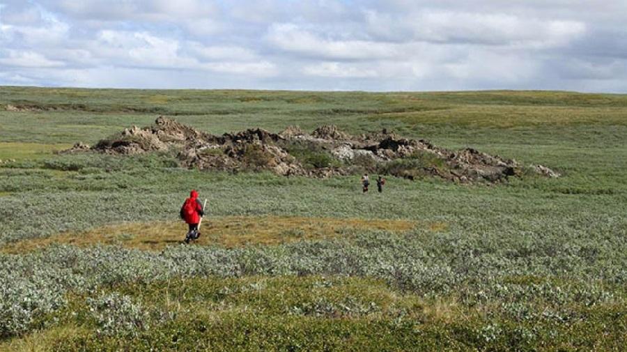 Воронки на полуострове Ямал