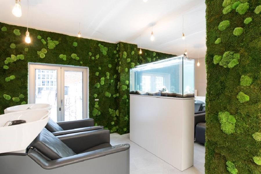 Стены из консервированных растений