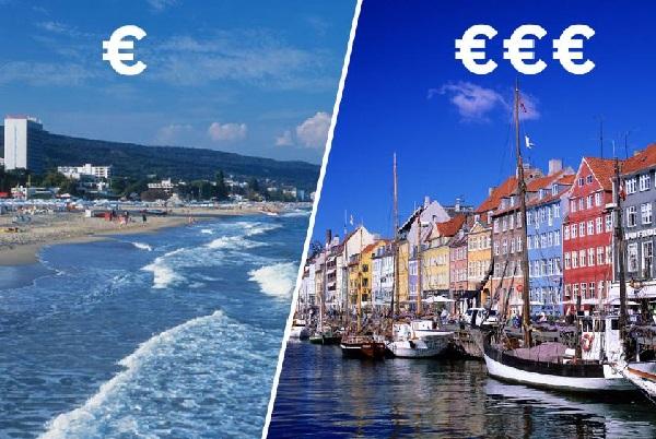 Отдыхать в Болгарии в 5 раз дешевле, чем в Дании