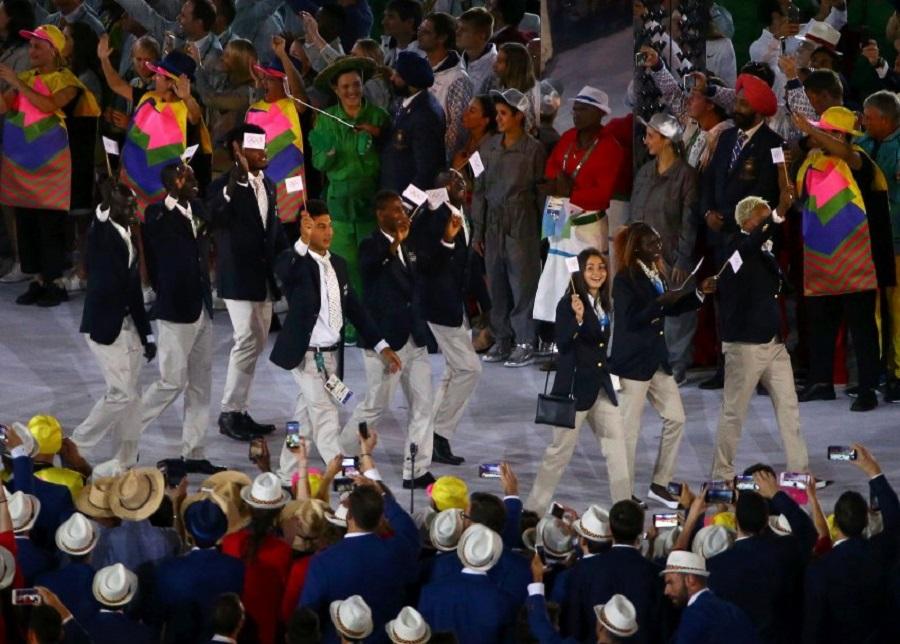 Открытие летней Олимпиады