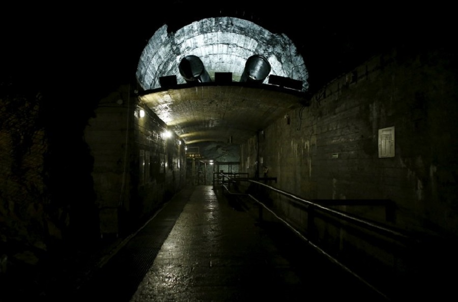 """Туннель, построенный в рамках проекта """"Великан"""""""