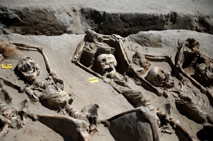 Древнее захоронение