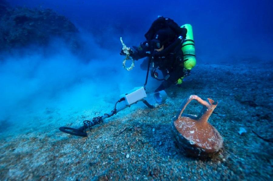 Находки у острова Антикитера