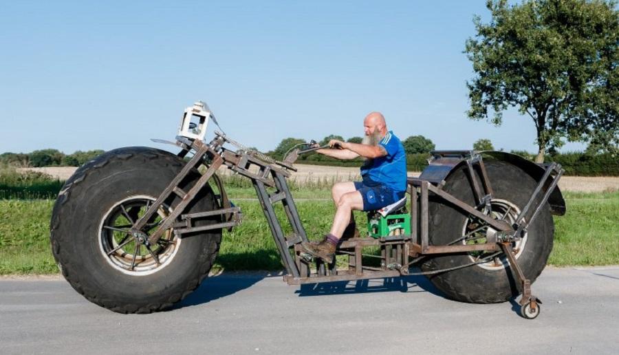 Самый тяжелый велосипед