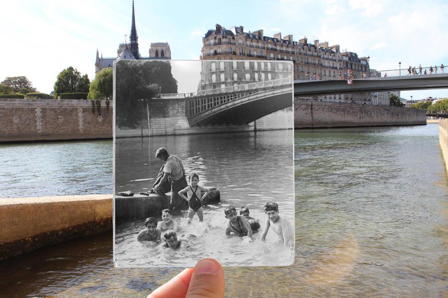 Река Сена, 1930 г.