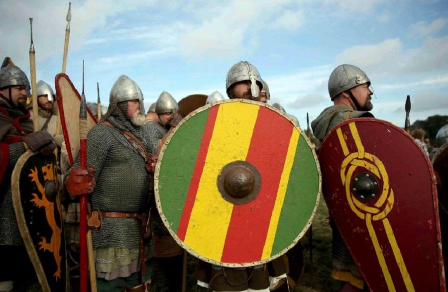 Реконструкция битвы при Гастингсе