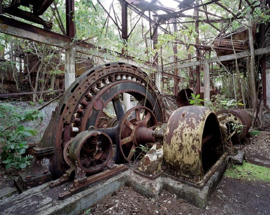 Спиртовой завод в Сейнт-Роуз Гваделупа