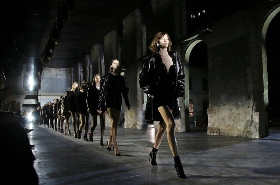 Коллекция дома моды Yves Saint Laurent