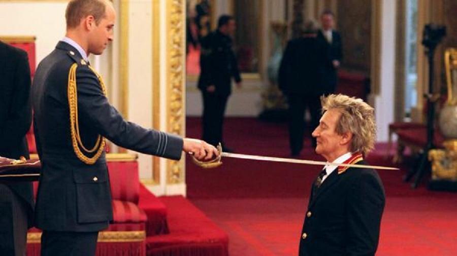 Принц Уильям и Род Стюарт