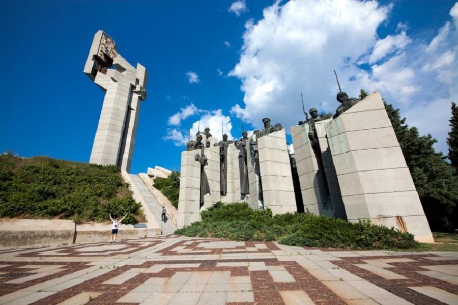 Памятник Chadschi Dimitar в Болгарии.