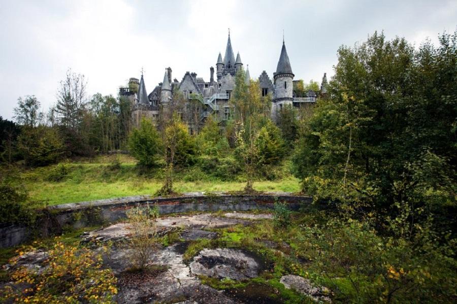 """В замке снимались сцены из фильма """"Ганнибал""""."""