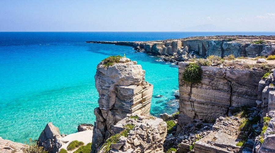 Остров Фавиньяна (Favignana) — уникальное место для Сицилии
