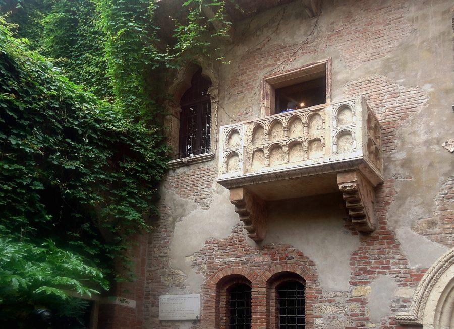 Балкон Джульетты в Вероне, Италия