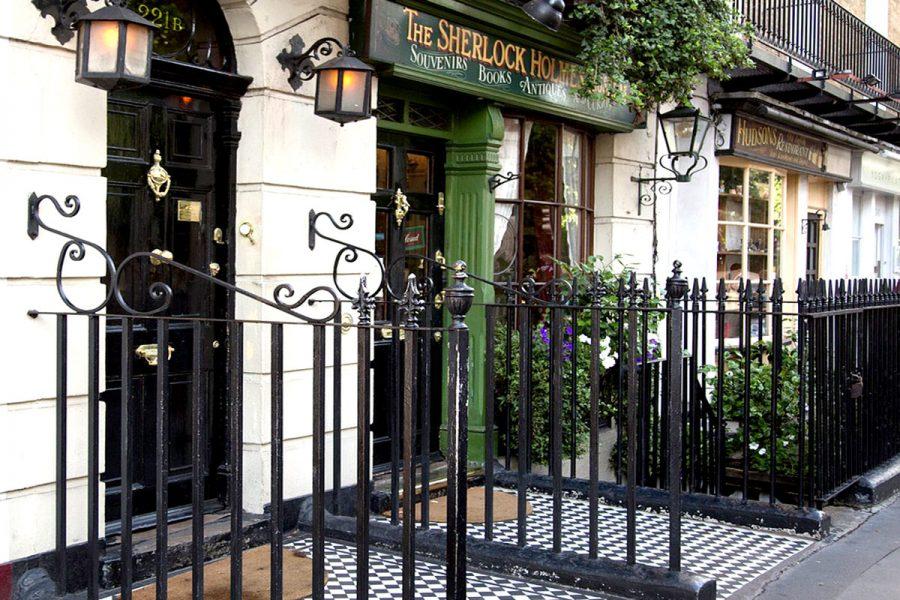 Дом Шерлока Холмса в Лондоне, Великобритания