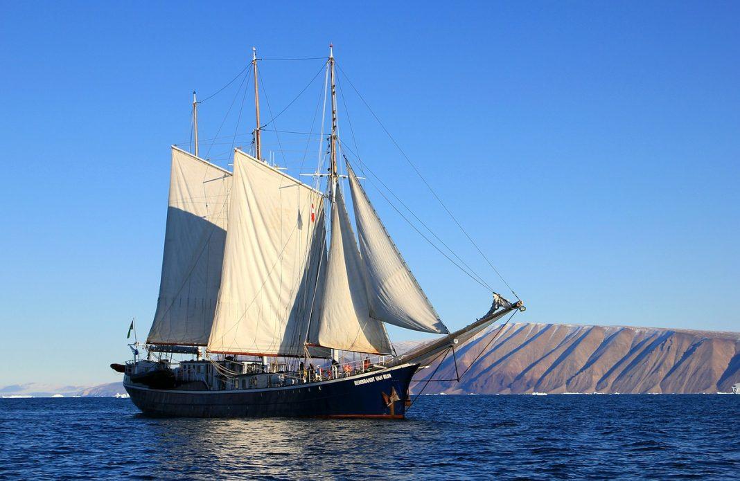 Исследование берегов острова Гренландия