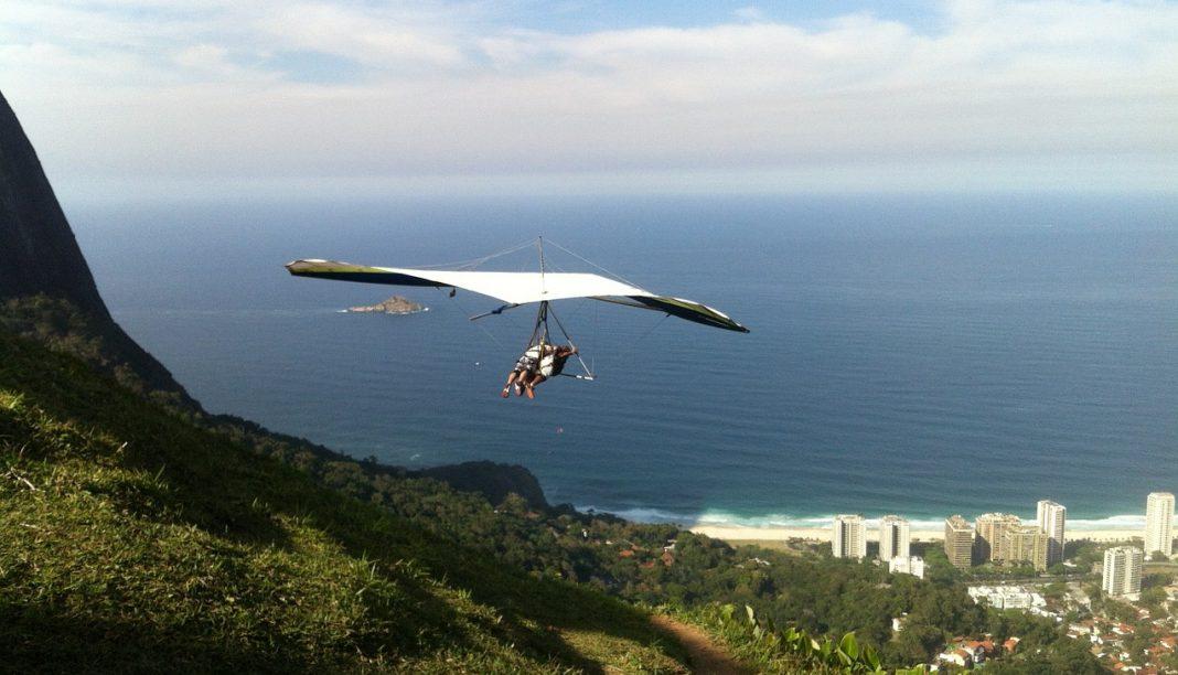 летаем на дельтаплане