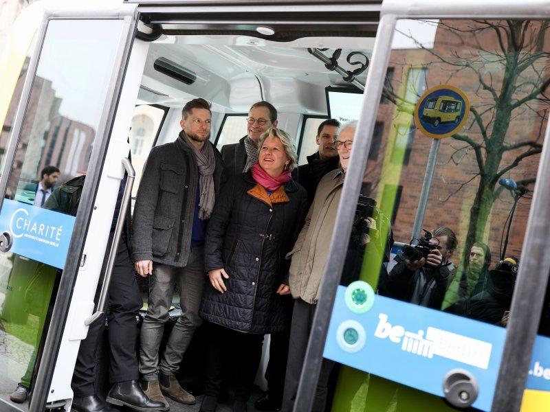 электробус в Берлине